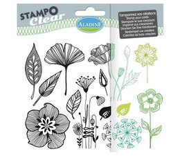 Aladine Flowers Clear Stamps (04199)