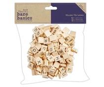 Papermania Bare Basics Wooden Tile Letters (200pcs) (PMA 174624)