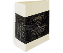 Graphic 45 Rectangle Tag & Pocket Album - Ivory (4501518)