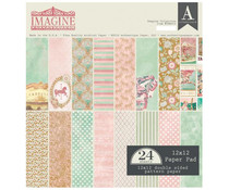 Authentique 12x12 Paper Pad Imagine (IMA012)