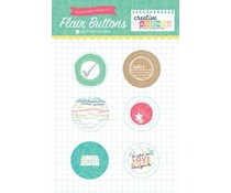 Echo Park Creative Agenda Flair Buttons (CA70027)