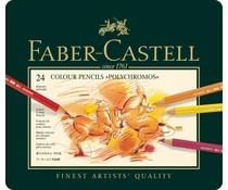 Faber Castell Kleurpotlood Polychromos Etui à 24 Stuks (FC-110024)