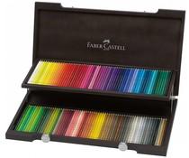 Faber Castell Color Crayon Polychromos Wooden Box 120 Pieces (FC-110013)