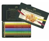 Faber Castell Color Crayon Polychromos Carton Box 12 Pieces (FC-110012)