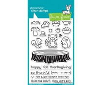 Lawn Fawn Forest Feast Clear Stamps (LF1464)