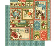 Graphic 45 Winter Collective 12x12 Inch Paper Pack (4501616)