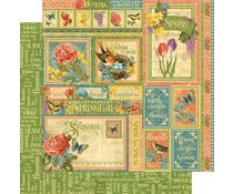 Graphic 45 Spring Collective 12x12 Inch Paper Pack (4501618)