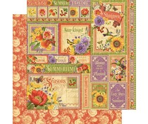 Graphic 45 Summer Collective 12x12 Inch Paper Pack (4501620)