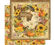 Graphic 45 Autumn 12x12 Inch Paper Pack (4501621)