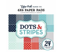Echo Park Winter Dots & Stripes 6x6 Inch Paper Pad (DS170162)