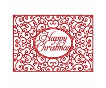 First Edition Christmas Craft a Card Die - Happy Christmas (FEDIE197X17)
