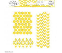 Aladine Stencil Trio Geometry (81055)