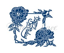 Tattered Lace Peony Wishes (TLD0648)