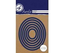 Aurelie Oval Nesting Snij- & Embossingsmal (AUCD1011)