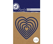 Aurelie Heart Nesting Perforatrice (AUCD1013)
