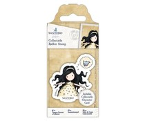 Gorjuss Collectable Mini Rubber Stamp No. 44 Free As A Bird (GOR 907143)