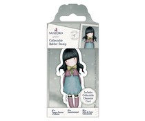 Gorjuss Collectable Mini Rubber Stamp No. 52 Waiting (GOR 907151)