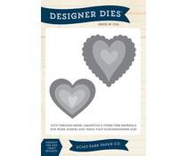 Echo Park Heart Set #1 Designer Dies (EPPDIE43)
