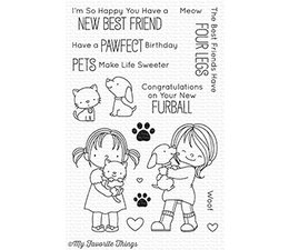It/'s a treat to have a friend like you Rubber Stamp PW