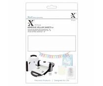 Xcut Xtra's A5 Adhesive Vellum Sheets White (15pcs) (XCU 174423)