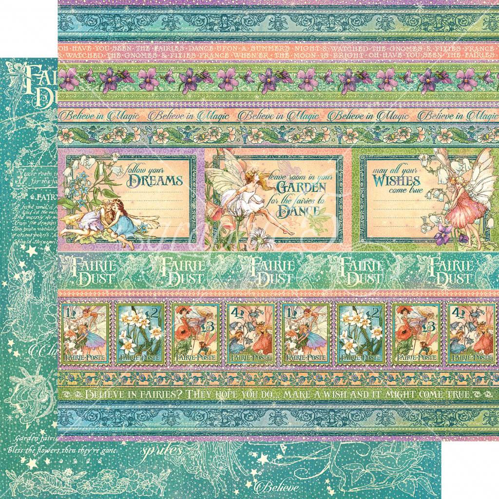 Graphic 45 Magic Wishes 12x12 Inch Paper Pack (4501639) - Craftlines