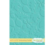 Taylored Expressions Scattered Leaves Embossing Folder (TEEF11)