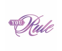 Couture Creations Everyday Sentiments Hotfoil Stamp You Rule (CO725824)