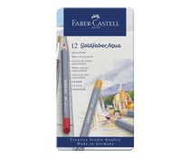 Faber Castell Goldfaber Aqua Watercolour Pencils Set of 12 (FC-114612)