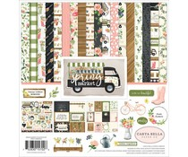 Carta Bella Spring Market 12x12 Inch Collection Kit (CBSM80016)