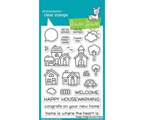 Lawn Fawn Happy Village Clear Stamps (LF1591)