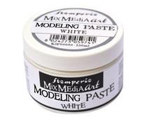 Stamperia Modelling Paste 150ml White (K3P38W)