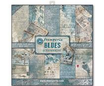 Stamperia Blues 12x12 Inch Paper Pack (SBBL26)