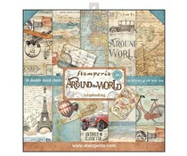 Stamperia Around the World 12x12 Inch Paper Pack (SBBL28)