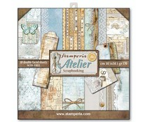 Stamperia Atelier 12x12 Inch Paper Pack (SBBL31)