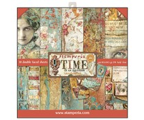 Stamperia Time is an Illusion 12x12 Inch Paper Pad (SBBL33)