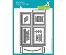 Lawn Fawn Scalloped Box CardPop-Up Dies (LF1376)