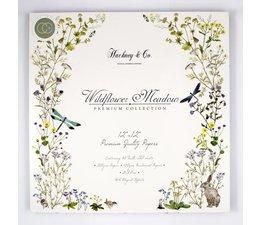 Craft Consortium Wildflower Meadow 12x12 Inch Paper Pad (CCPPAD007)