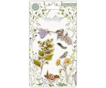 Craft Consortium Wildflower Meadow Clear Stamps Wild Flowers (CCSTMP005)