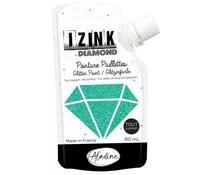 Aladine Izink Diamond Glitter Paint Turquoise 80ml. (80838)
