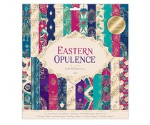 Papermania Eastern Opulence 12x12 Inch Paper Pad (PMA 160275)