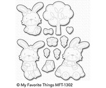 My Favorite Things Sweet Somebunny Die-Namics (MFT-1302)