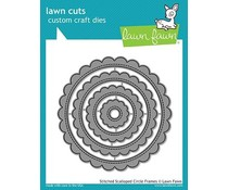 Lawn Fawn Stitched Scalloped Circle Frames Dies (LF1718)