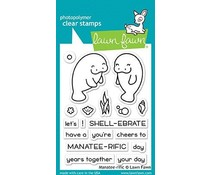 Lawn Fawn Manatee-rific Clear Stamps (LF1688)