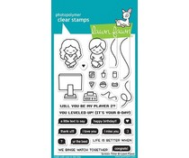 Lawn Fawn Screen Time Clear Stamps (LF1684)