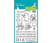Lawn Fawn Critter Concert Clear Stamps (LF1682)