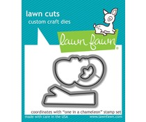 Lawn Fawn One in a Chameleon Die (LF1550)