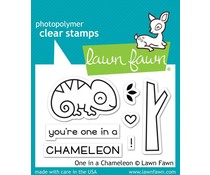 Lawn Fawn One in a Chameleon Clear Stamps (LF1549)