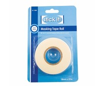 Stick It! 27m Masking Tape Roll (18mm) (STI 7000)