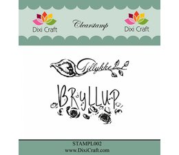 Dixi Craft Danish Texts Clear Stamps (STAMPL002)