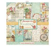 Stamperia Garden 12x12 Inch Paper Pack (SBBL43)